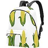 Mochila para niños con imágenes de maíz para Adolescentes y escuelas primarias, Bolsas de Escuela Secundaria, Libros y Adolescentes