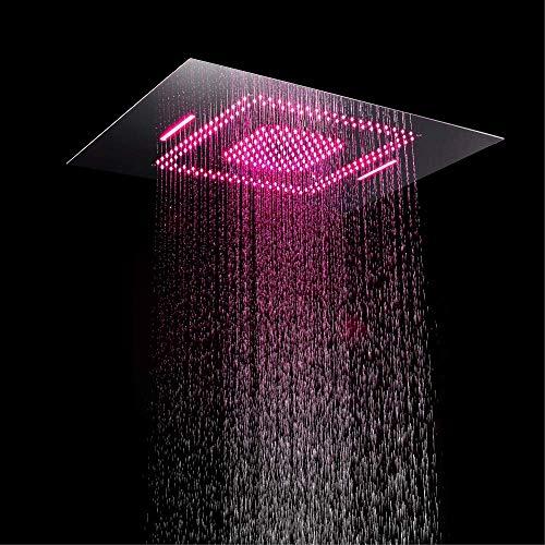 fdxcft Bad/Dusche Duschkopf/Bad Dusche/Wasserhahn Led Regen Duschkopf Fernbedienung Dusche * 600 * 800Mm Duschkopf Dusche Jacuzzi