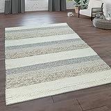 alfombra lana beige