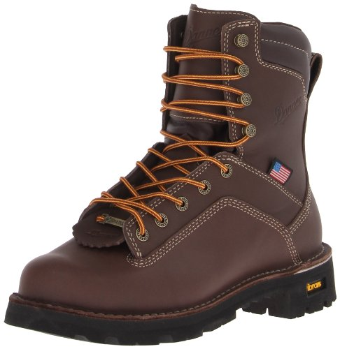 Danner Men's Quarry USA 8-Inch BR Work Boot,Brown,11 D US