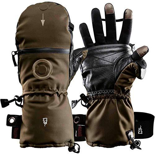 Guantes calentadores de manos K&S The Heat 3 Special Force, guantes y...