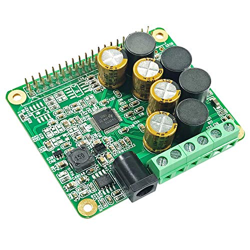 RPI HiFi AMP HAT TAS5713 Amplifier Audio Module 25W Class-D Power Sound Card Expansion Board for Raspberry Pi 4 3 B+ Pi Zero Nichicon Capacitor