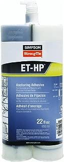 Epoxy-Tie 22 Oz Anchoring Adhesive
