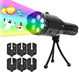 Christmas Projector Lights, Toolmore Portable LED Projector Lights with Tripod, 2 in 1