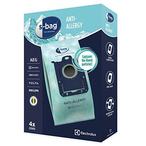 Electrolux E206S S-Bag Original Sacs pour aspirateur, Anti-Allergies, Multicolore