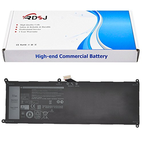 7VKV9 Laptop Battery for Dell XPS 12 9250 Latitude 12 7275 Series 9TV5X 09TV5X V55DO 0V55D0 V55D0 7.6V 30Wh