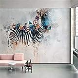 DZBHSCL 4D Tapeten Wandbilder,Kreative Cartoon Burger