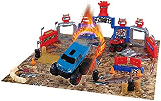 World Tech Toys Ford Monster Truck Mayhem Friction 54 Piece Playset (2 Pack)