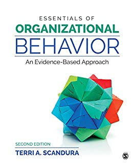 Essentials of Organizational Behavior: An Evidence-Based Approach by [Terri A. Scandura]