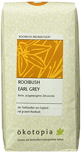 Ökotopia Roibusch Tee aromatisiert Rooibush Earl Grey, 1er Pack (1 x 250 g)