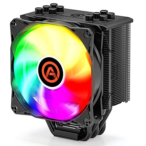 CPU Cooler with 5 Direct Contact Heatpipes, ARESGAME CPU Air Cooler for Intel/AMD with...