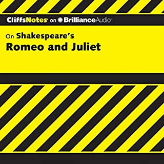Romeo and Juliet: CliffsNotes                   Written by:                                                                                                                                 Annaliese F. Connolly                               Narrated by:                                                                                                                                 Kate Rudd                      Length: 3 hrs and 58 mins     1 rating     Overall 1.0