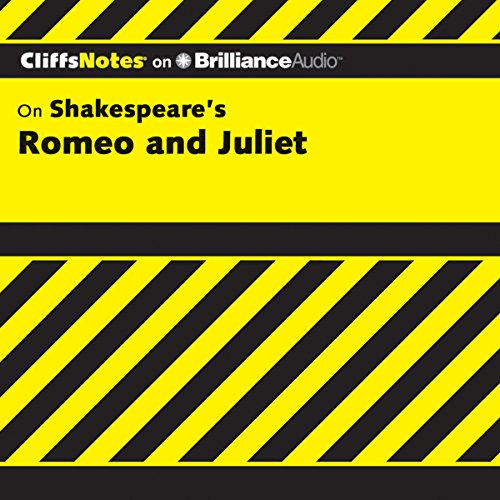 Romeo and Juliet: CliffsNotes audiobook cover art