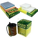 MANN-FILTER - Set di ispezione per filtro abitacolo, filtro dell'aria, filtro dell'olio