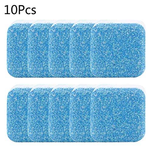 JIACUO 10 stks Nuttige Wasmachine Descaler Cleaner Diepe Reiniging Remover Tabletten Deodorant Duurzame Multifunctionele Wasbenodigdheden