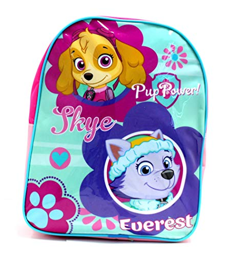 Disney Frozen School Bag, Kids Backpack Pup Power Characters, Large Capacity Rucksack for School Travel, Disney Gifts for Girls Boys Teenagers (Pup Power)