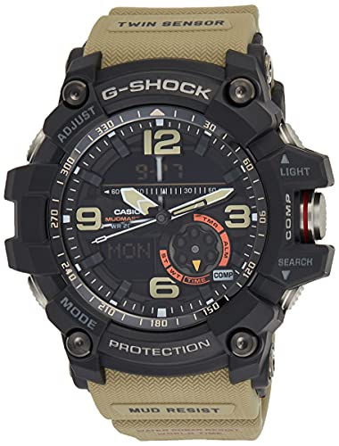 Casio G-Shock Analog-Digital Black Dial Men's Watch-GG-1000-1A5DR (G661)