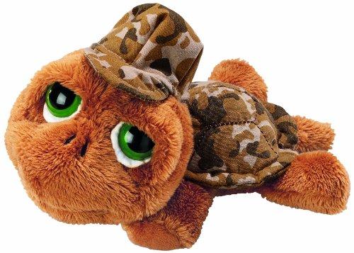 Unbekannt Li'l Peepers 86056 - Russ Berrie Shelby Schildkröte mit Tarnanzug, 25 cm, braun
