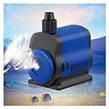GUANGHEYUAN-J Sumergible Bomba De Agua De Buceo De Cilindro De Peces De Caja Acuática Tranquila para el Estanque de acuarios. (Alimentazione : JQP1000)
