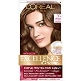 L'Oreal Paris Excellence Creme Hair Color, Medium Golden Brown (Pack of 3)