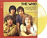 The Who ICON - Exclusive Limited Edition Custard Yellow Colored Vinyl LP