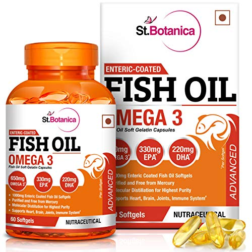 St.Botanica Fish Oil Omega 3 Advanced 1000Mg...