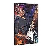 Eric-Clapton Rock Guitar Singer Leinwand Poster Wandkunst