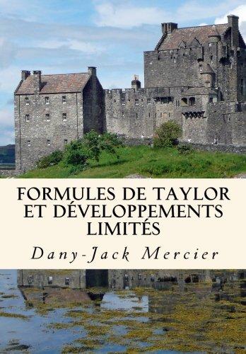Formules de Taylor et développements limités
