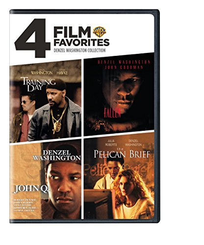 4 Film Favorites: Denzel Washington (Fallen, John Q, The Pelican Brief, Training Day)