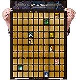 100 Anime Scratch Off Poster Foto,Hintergrundbilder
