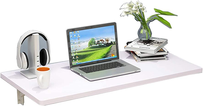 distribución global WNX Mesa Mesa Mesa de Parojo blancoa Cocina Plegable Mesa de Comedor, Mesa de Aprendizaje para Niños, Mesas de Bar de Madera con Paneles de Parojo (Tamaño   100×40cm)  envío gratis