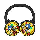 Mobile Wireless Bluetooth Son_ic_Mia Customized Over Ear Headphones Black