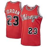 Formesy NBA Jersey Jordan#23,Pippen#33,Rodman#91 Basketball Trikot Chicago Bulls Jersey Basketball Weste Shirt Basketball Anzug für Herren Männer