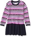 Hatley Baby Girls' Sweater Dress, Fair Isle Bunnies, 4 Years