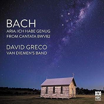 """J.S. Bach: Ich habe genug, Cantata BWV 82: 1. """"Ich habe genug, ich habe den Heiland"""""""