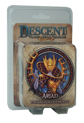 Giochi Uniti GU231 - Descent Seconda Edizione: Pack Luogotenente Ariad