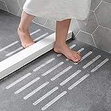 GS1 Global Office Tiras Antideslizantes para Ducha y bañera, Juego de 24 Adhesivos Antideslizantes...