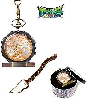 ポケットモンスター サン&ムーン 八角形レリーフ 懐中時計 ピカチュウ 腕時計 オリジナルBOX付き リストウォッチ 時計 グッズ ポケモン