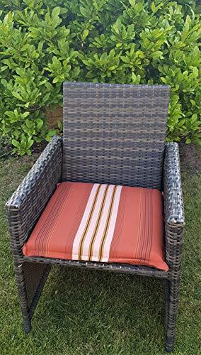 Avec fermeture éclair amovible et assise/fauteuil de jardin Coussin pour banc CAMARO 704–03 100% polyacrylique