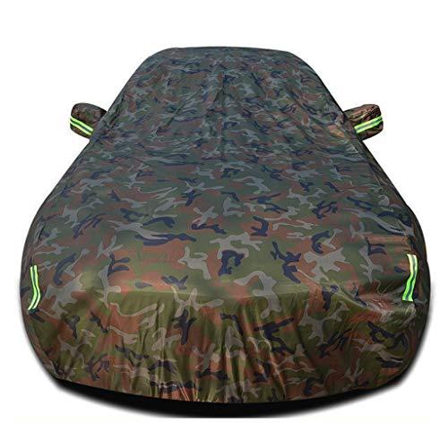Autoplanen Kompatibel mit Nissan Qashqai SUV Oxford Anti-uv Sonnencreme Regen Winddicht autokleidung Auto Abdeckung (Color : Camouflage, Size : Single Layer)