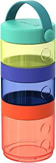 Skip Hop Grab and Go Container Set (Formula-to-Food), Red