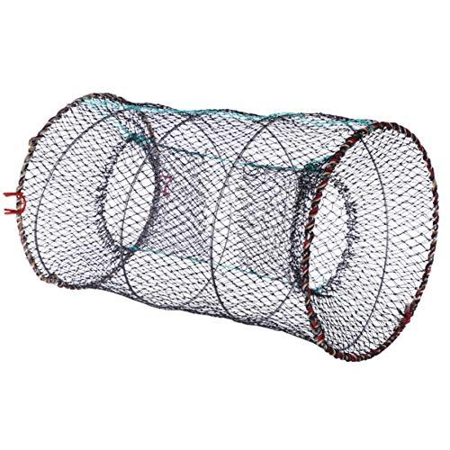 TOYMYTOY 漁具 魚捕り網 魚網 お魚キラー 折り畳み式 漁網 折りたたみ 釣り ランディングネット
