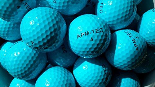 APM-TEC 50 Golfbälle, blau, NEU, Turnierqualität, 432 Dimple Z-03
