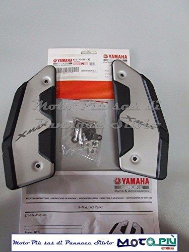 Reposapiés de aluminio originales de Yamaya para X-Max 12530040020172018