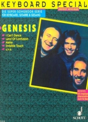 Genesis: Keyboard Special. Die Super-Songbook-Serie für Keyboard, Gitarre & Gesang - Sofort spielbar. (ED 8136)
