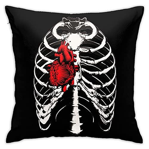 MRKAL Walking-Dead Fundas de Almohada para Dormitorio Fundas Decorativas para el hogar Sofá Sofá Funda de Almohada Cuadrada Pillow Covers