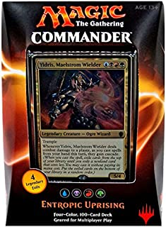 Magic the Gathering Commander 2016 Deck - Entropic Uprising (UBRG)