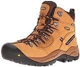 KEEN Utility Men's Pittsburgh 6' Steel Toe Waterproof Work Boot, Wheat/Wheat, 10 Medium US