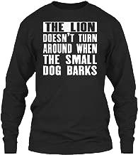 The Lion Doesnt Turn Around Long Sleeve Tshirt - Gildan 6.1oz Long Sleeve Tee