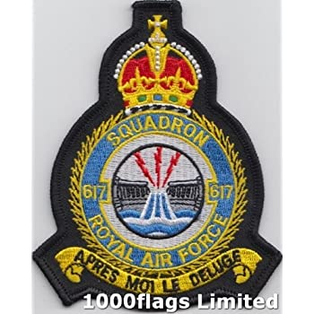 Royal Air Force RAF Pilot Fancy Dress Embroidered Iron On Jacket Badge Patch